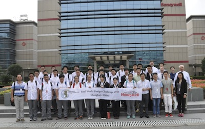 Students involved in RWDC China Training Workshop